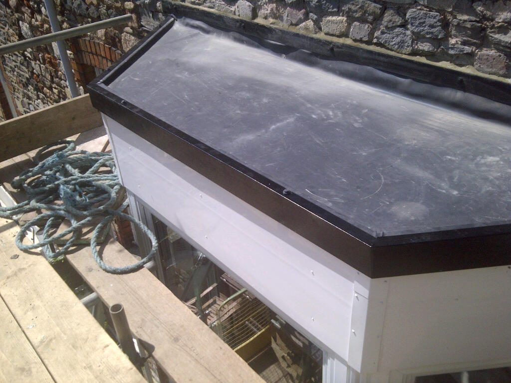 Flat roofing repairs Bristol by AquaGard Roofing