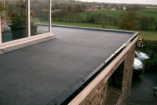 flat roof ext
