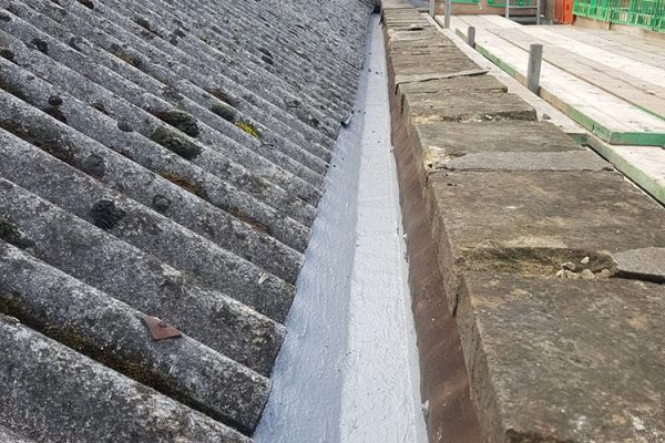 gutter repair and coating